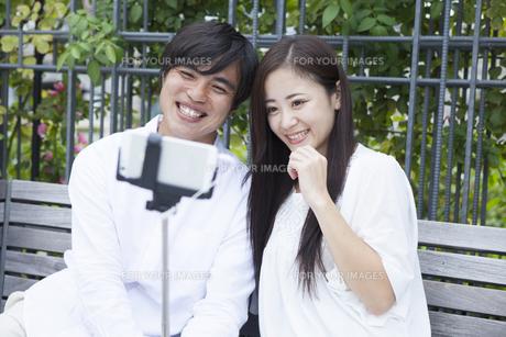 若い男女のカップルの写真素材 [FYI00922007]