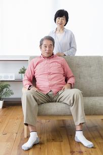 くつろぐ老夫婦の写真素材 [FYI00922063]
