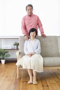 くつろぐ老夫婦の写真素材 [FYI00922089]