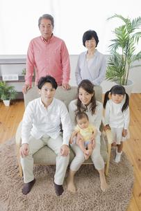 団欒する家族の写真素材 [FYI00922183]