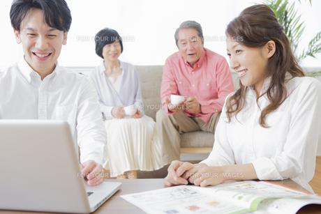 PCで検索する家族の素材 [FYI00922198]
