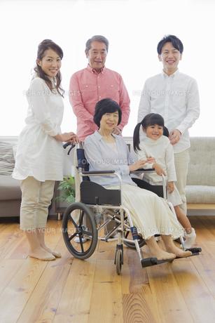 介護家族の素材 [FYI00922209]