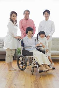 介護家族の写真素材 [FYI00922209]