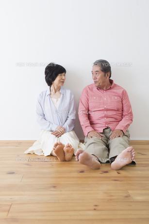 くつろぐ老夫婦の写真素材 [FYI00922232]