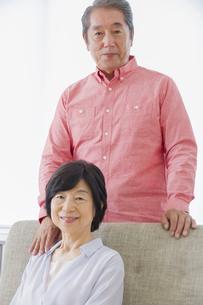 くつろぐ老夫婦の写真素材 [FYI00922382]