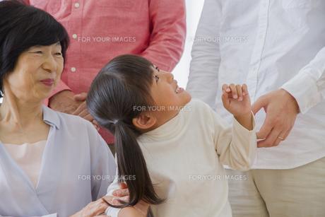 介護家族の素材 [FYI00922454]