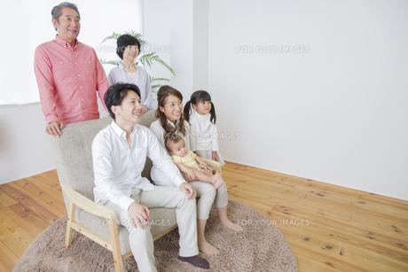 団欒する家族の写真素材 [FYI00922461]