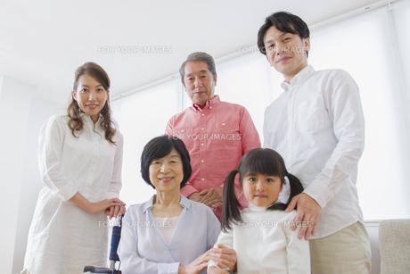 介護家族の素材 [FYI00922465]