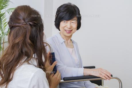 介護家族の素材 [FYI00922473]