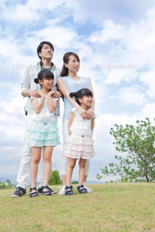 仲良し家族の写真素材 [FYI00922781]