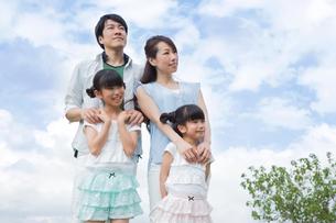 仲良し家族の素材 [FYI00922808]