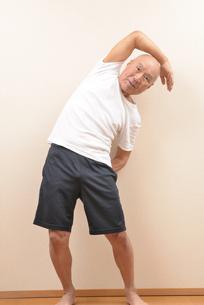 シニアの体操の写真素材 [FYI00923030]