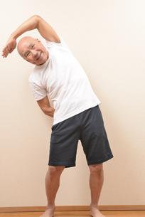 シニアの体操の写真素材 [FYI00923032]
