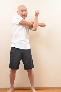 シニアの体操の写真素材 [FYI00923034]