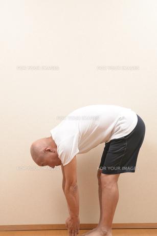 シニアの体操の写真素材 [FYI00923040]