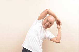 シニアの体操の写真素材 [FYI00923052]