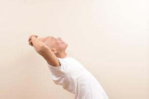 シニアの体操の写真素材 [FYI00923056]