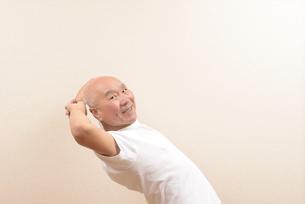シニアの体操の写真素材 [FYI00923057]