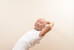 シニアの体操の写真素材 [FYI00923058]