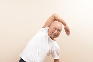 シニアの体操の写真素材 [FYI00923060]