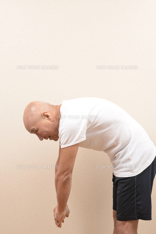シニアの体操の写真素材 [FYI00923066]