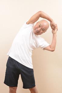 シニアの体操の写真素材 [FYI00923067]