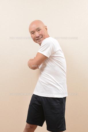 シニアの体操の写真素材 [FYI00923071]