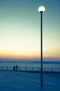 夜明けの写真素材 [FYI00924035]