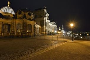 ブリュールのテラス(ドイツ・ドレスデン)の写真素材 [FYI00924226]
