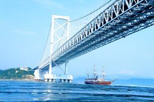 鳴門大橋の写真素材 [FYI00924586]