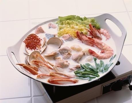 鍋料理の素材 [FYI00924961]