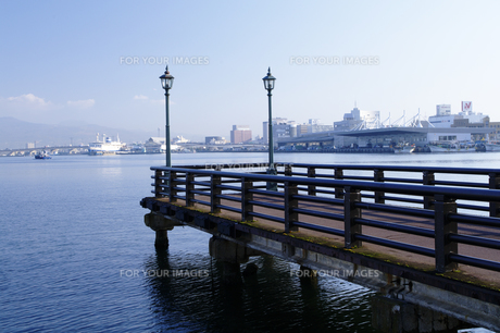 東浜桟橋の素材 [FYI00926991]