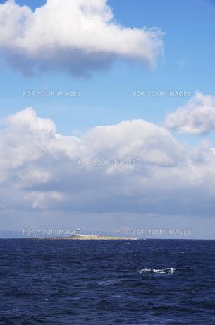 弁天島と大間崎灯台の素材 [FYI00927623]