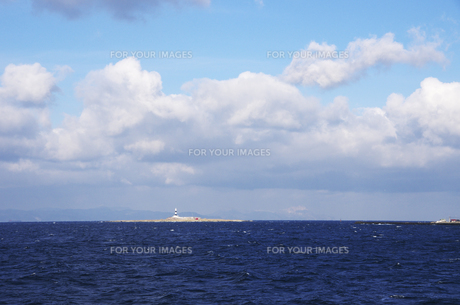 弁天島と大間崎灯台の素材 [FYI00927655]