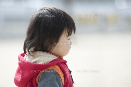 男の子の横顔の素材 [FYI00934763]
