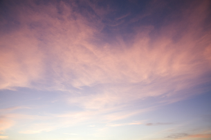 夕焼け雲の素材 [FYI00935511]