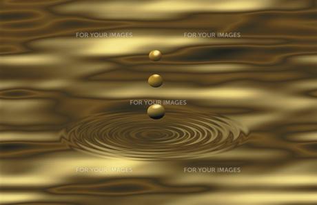 水滴と渦の素材 [FYI00939837]