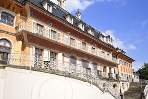 ピルニッツ宮殿「水の宮殿」(ドイツ・ドレスデン)の写真素材 [FYI00942121]