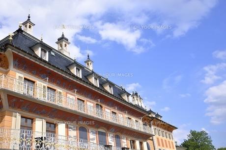 ピルニッツ宮殿「水の宮殿」(ドイツ・ドレスデン)の写真素材 [FYI00942122]