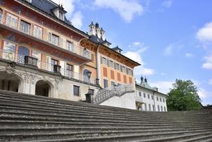 ピルニッツ宮殿「水の宮殿」(ドイツ・ドレスデン)の写真素材 [FYI00942123]