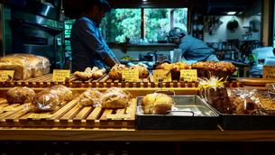 パン屋 お店の写真素材 [FYI00942223]