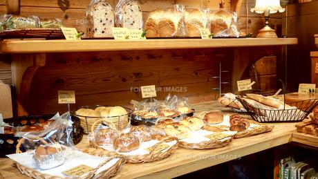 パン屋 お店の写真素材 [FYI00942224]