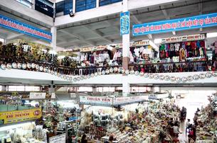 ベトナム 市場 マーケットの写真素材 [FYI00942228]