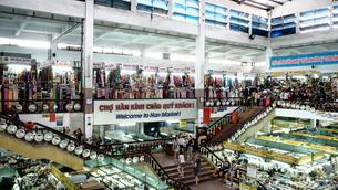 ベトナム 市場 マーケットの写真素材 [FYI00942229]