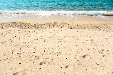 神戸の砂浜の写真素材 [FYI00942415]