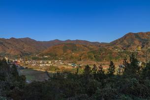 秋の群馬県の風景の写真素材 [FYI00942668]