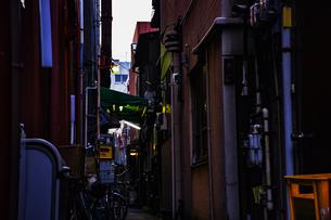 日本の脇道の写真素材 [FYI00942694]