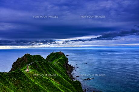 積丹ブルーの海の写真素材 [FYI00942717]