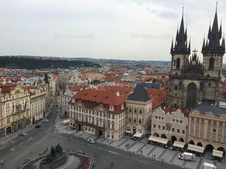 プラハの街①の写真素材 [FYI00942751]