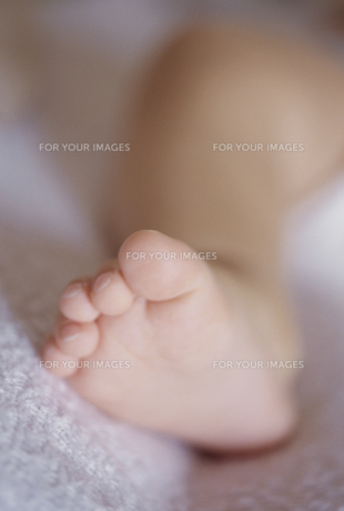 赤ちゃんの足の素材 [FYI00945246]
